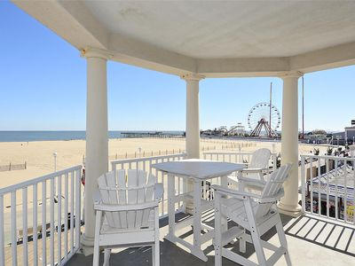 Photo for OC Boardwalk Condo - Overlooks All the Action - Wi-Fi, Pool & Amazing Ocean View