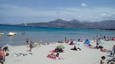 Photo for T3 nine air-conditioned, Calvi 150m from the beach, cleaning, linen & parking included