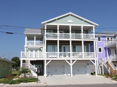 Photo for Immaculate NEW Luxury Ocean View 6BR/4.5BA House with Pool and Elevator