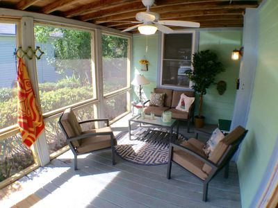 Sleep up to 14 comfortably, only 500 feet from the beach!  Recent Renovations!