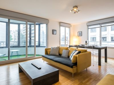 Photo for 92m2 apartment with 3 bedrooms, for 1 to 6 people in Lyon