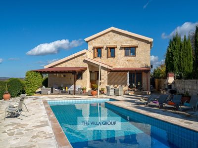 Photo for Giolou Villa, Sleeps 6 with Pool, Air Con and WiFi