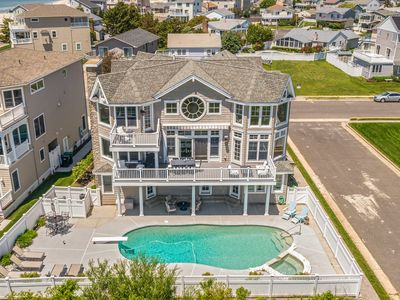 Photo for Luxury Ocean Front Mansion with Heated Pool, Elevator, Grill and Suites Galore
