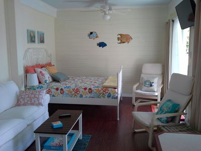 Brand New Studio Accommodations On Guana Cay For One Or Two People