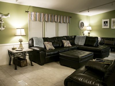 Photo for Lakefront, Golf Cart and WIFI - Taxes and Golf Cart are included in the Price!