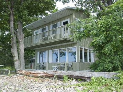 Photo for Amazing Cottage ON Lake Erie, Convenient Location = Sound of Waves & Sunsets