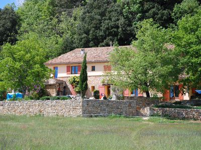 Photo for sunny and quiet cottage in the Haut Var, 5 pers. + 10 in a second cottage.