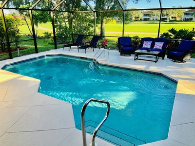 Photo for Peaceful Heavenly Getaway In Lely Resort/ Private Heated Pool
