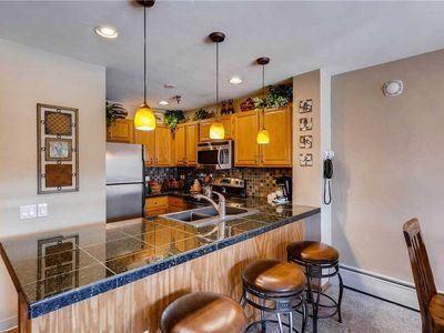 Photo for Located in the heart of Breckenridge, this fabulous condo has an on-site pool!