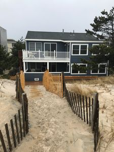 Photo for Lovely First Floor Oceanfront 207 E 22nd Spray Beach, LBI, New Jersey.