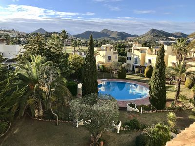 Photo for Stunning 3 bedroom Villa in tranquil setting in La Manga Club with shared pool