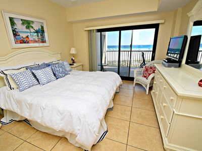 Photo for 1st Floor Gulf Front Condo! Covered Parking ~ Summer Vacation Specials!