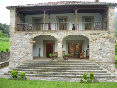 Photo for TYPICAL CASONA MONTAÑESA IN PICOS DE EUROPA (POTES) WITH PRIVATE GARDEN