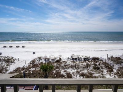 Photo for Gulf Front Luxury 4 Bedroom w/ Pool & Amazing Sunsets!