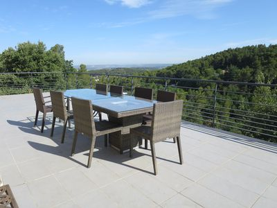 Photo for Pretty Villa Exceptional view, surrounded by nature, quiet with pool