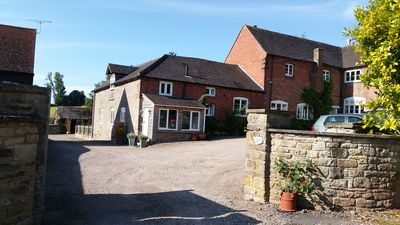 Photo for First Floor Open Plan Apartment In Barn Conversion Attached to Clehonger Manor