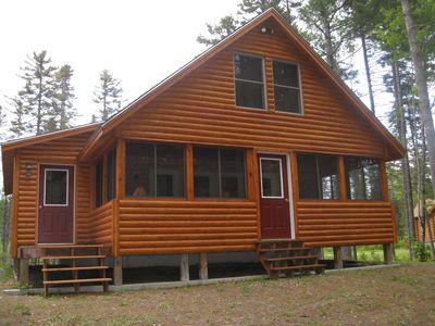 Front of Cabin- Summer