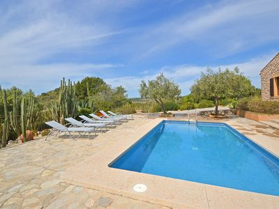 Photo for CALICANT - Country house with swimming pool in Sant Llorenç