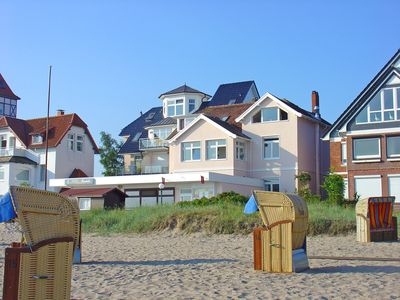 Photo for 2 BR apartment 42sqm partial sea view, balcony, right on the beach in Niendorf / Ostsee WLAN