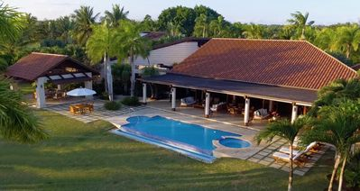 Photo for Luxury Private 5-bedroom Villa in Casa de Campo, Fully Staffed, Two Golf Carts