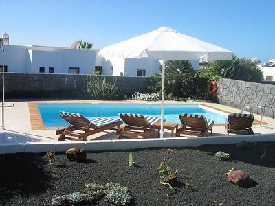 Photo for House 1.5 km from the center of Playa Blanca with Parking, Internet, Washing machine, Pool (139003)