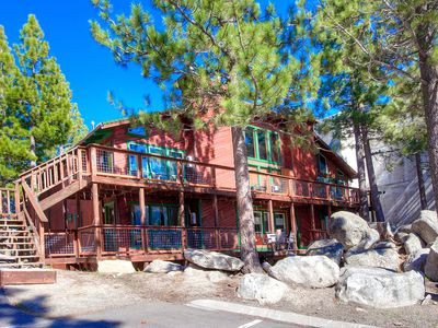 Photo for Remodeled, w/BBQ, Fireplace, Sauna, Views, Comm Hot Tub/Pool (HNC0804)