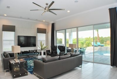 Family Room - open to the patio