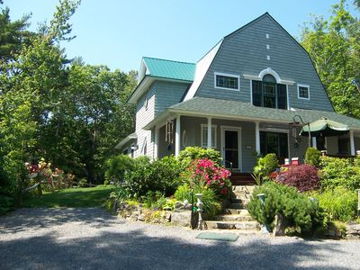 Photo for OGUNQUIT COTTAGE'S VILLAGE SQ. HOME, BOLD OCEAN VIEW IN THE CENTER OF TOWN
