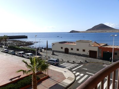 Photo for 1 bedroom apartment with beautiful sea views in El Medano