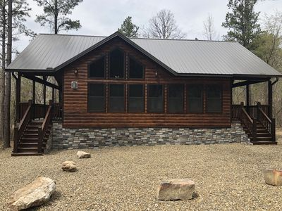 Photo for April Special!! Brand New 1 BR Luxury Cabin Perfect for couples/ family of 4