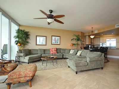"""Photo for Great View of the Gulf and Lazy River - 55"""" Smart TV - Netflix"""