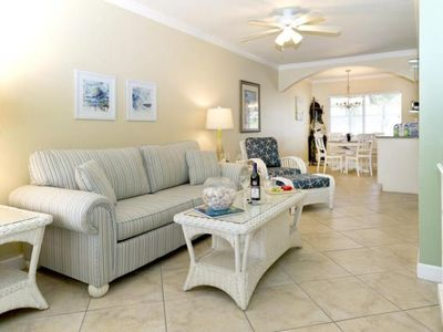 Photo for EACH VACAY STARTS HERE! AMAZING 2BR/1BA! STEPS TO THE BEACH, POOL!