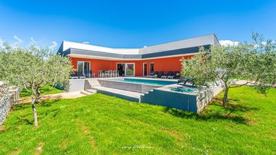 Photo for Lovely villa with pool near the beach in Krnica
