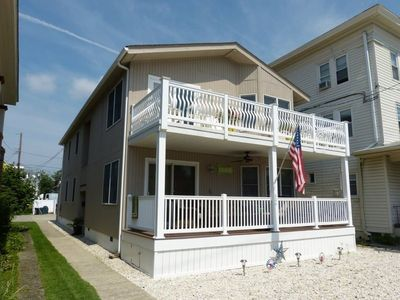 Photo for PERFECT OCEAN CITY LOCATION! DUPLEX WITH PARKING FOR 6!
