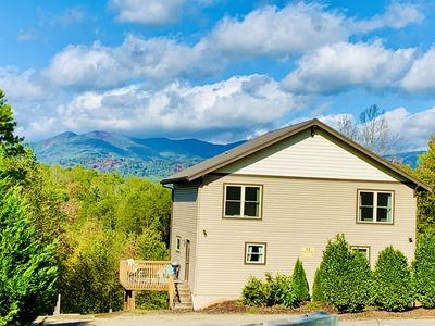 Photo for Gorgeous Mountain View, Great Location, River Access, Dog Friendly, WiFi, B