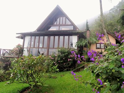 Photo for Wooden Lake House, Bedugul