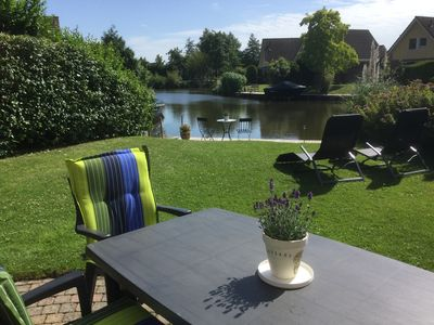 Photo for Cozy holiday home in Medemblik on the IJsselmeer with Wi-Fi and boat dock.