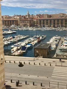 Photo for Apartment 2-4pers, view of the Old Port of Marseille
