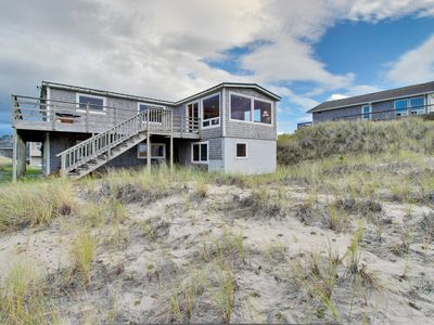 Photo for Beautiful, dog-friendly, oceanfront home w/ a gorgeous view