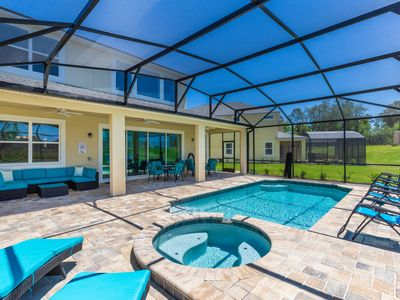 Photo for Solara Prestigious 6 Bed Pool/Spa Home