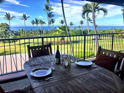 Photo for Sweeping Ocean View over Golf Course in Keauhou