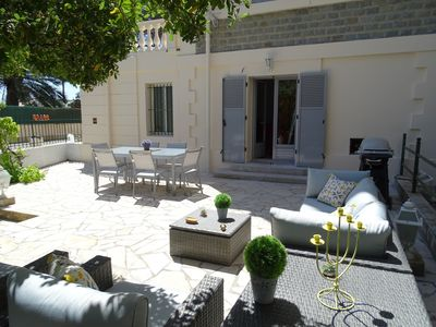 Photo for Great apartment in belle époque villa for 6-8 people, internet, terraces