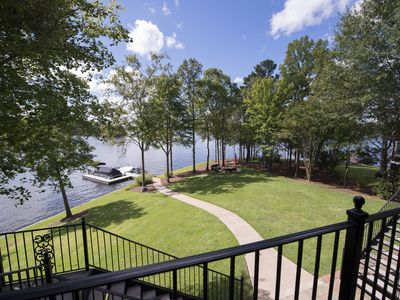 Photo for Pointe Lot, Game room,Theater, Near Ritz, Max Dock, Pontoon, Jet Skis, Fire Pit
