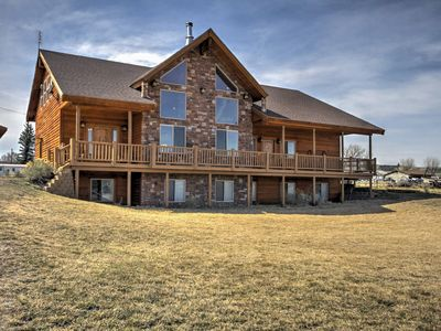 Photo for Rustic Bryce Canyon Home w/ Deck on Sevier River!