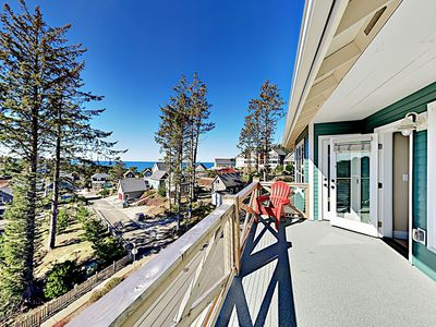 Photo for Brand-New 3-Story Custom Home w/ Decks, Fireplaces & Ocean Views