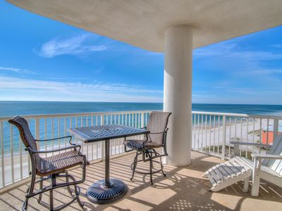 Photo for Island Royale 906 ~  Corner Beach Front View~Bender Vacation Rentals