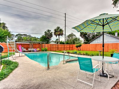 Photo for Tybee Island Home on 2 Lots - Walk to Ocean!