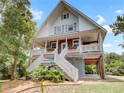 Photo for Second Wind- Newly Renovated Folly Beach Home! Pet friendly, large porch, easy walk to beach/dining.