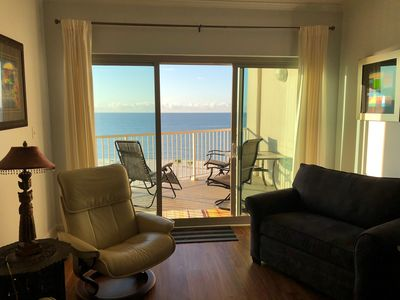 Photo for Seabreeze 604 | Located on the Beach | Beautiful view of the Gulf | Biloxi, MS