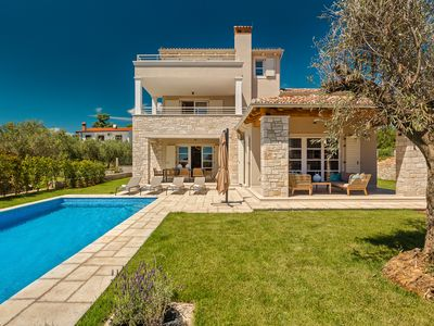 Photo for Vabriga, Beautiful villa with beautiful views, ideal for families